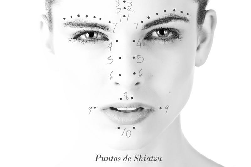 cómo dar un masaje shiatsu para el rostro