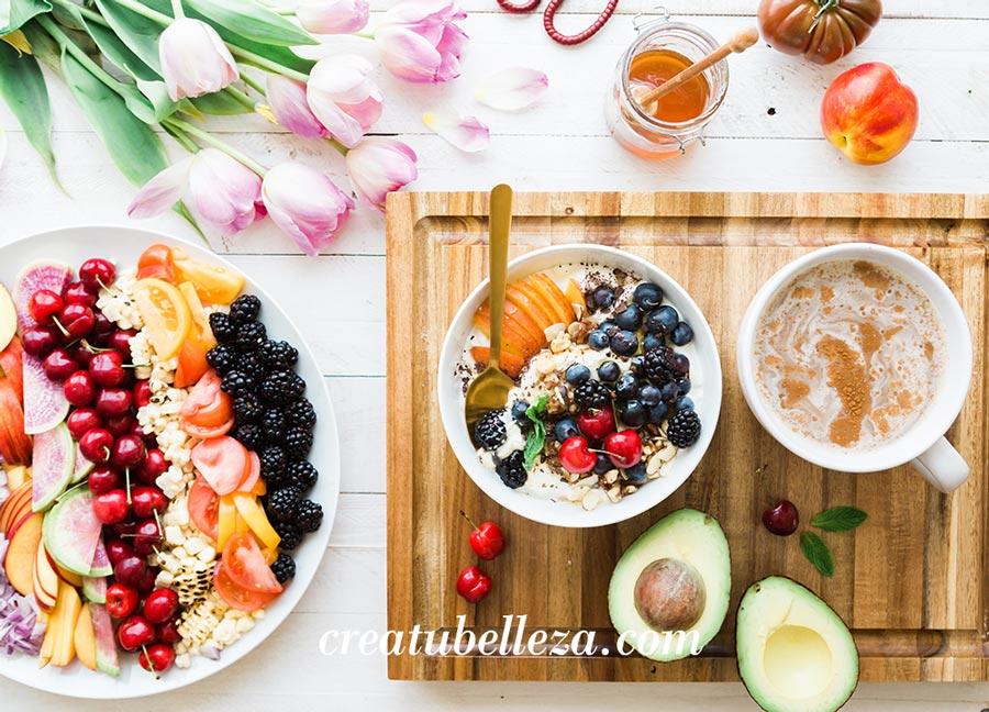 qué alimentos comer para una piel bella