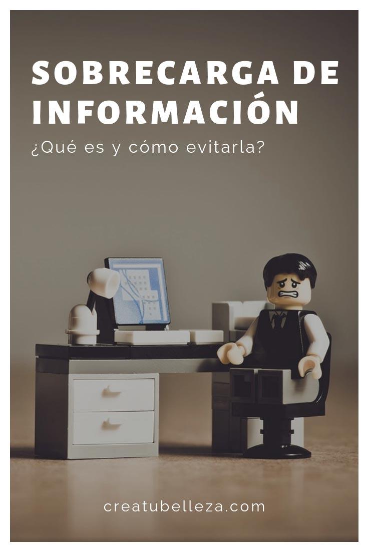 como evitar la sobrecarga de informacion o infoxicacion