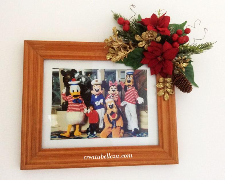 Marco navideño idea de regalo para uno mismo