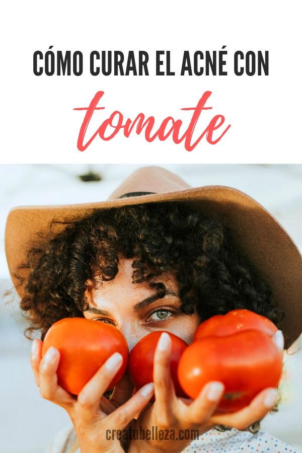 Cómo curar el acné con tomate rojo o jitomate piel grasa