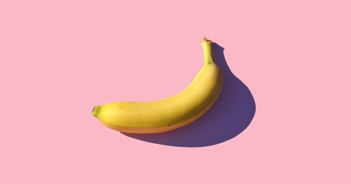Mascarilla de plátano para el acné