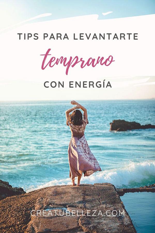 Cómo levantarse temprano con energia