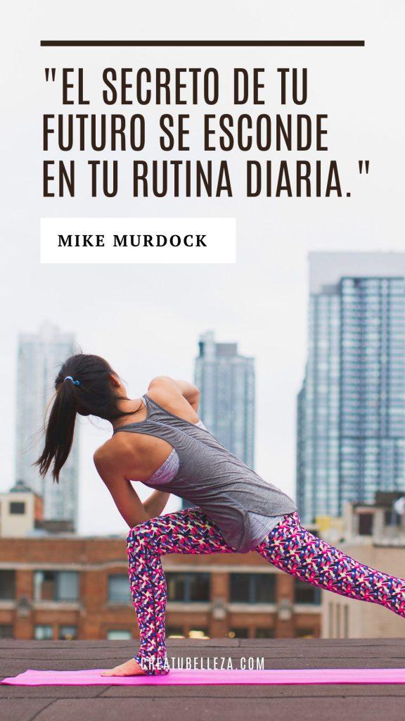 El secreto de tu futuro se esconde en tu rutina diaria, Mike Murdock.  Hábitos de gente exitosa que necesitas saber.