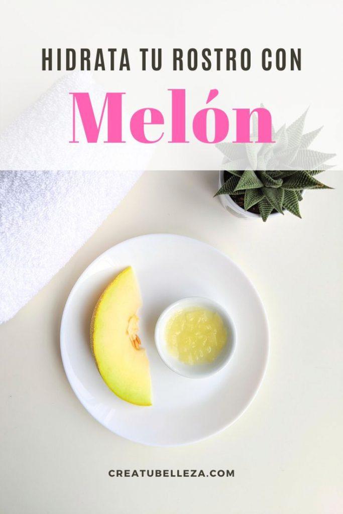 Cómo hacer una mascarilla de melón para hidratar, suavizar y aclarar el rostro.