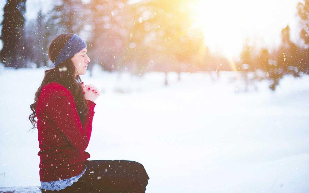 Cómo superar la depresión de invierno con oración meditación y mindfulness